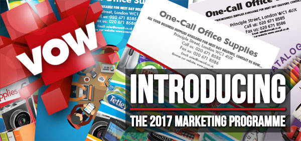 Introducing - The 2017 Marketing Programme