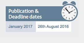Publication and deadline dates